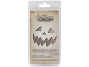 Sizzix Movers & Shapers Magnetic Dies By Tim Holtz 4/Pkg-Mini Scary Jack-O-Lantern