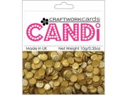 Candi Dot Embellishments .35oz-Metallique - Tungsten