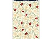 "Seasons Heavyweight Background Card Sheet 8""X12""-Autumn Berries Copper"