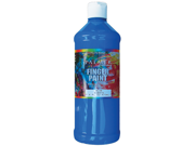 Washable Finger Paint 16 Ounces-Blue