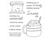 Inky Antics Clear Stamp Set-Marshmallow Friends