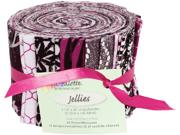 """Fabric Palette Jellies 100% Cotton 2.5""""X42"""" Cuts 20/Pkg-City"""