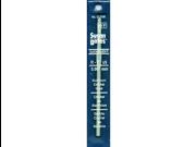"Quicksilver Aluminum Crochet Hook 5-1/2""-Size H 8"