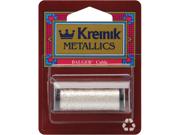 Kreinik Metallic Cable 3 Ply 10 Meters (11 Yards)-Silver