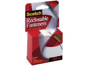 """Scotch Multi-Purpose Velcro Fasteners .75""""X5'-White-1 Roll"""