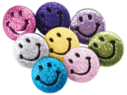 Dress It Up Embellishments-Psychedelic Smiles