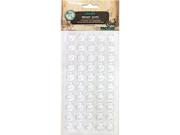 """Vintage Collection Epoxy Dots 1"""" 50/Pkg-"""
