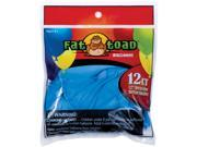 "Fat Toad Latex Balloons 12"" 12/Pkg-Light Blue Stars"