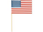 "Cotton Banner 6""X9""-American Flag"