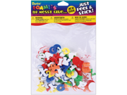 Foam Stickers 135/Pkg-Mini Alphabet