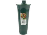 """Styrofoam Filled Cemetery Vase 4""""X13-1/4"""" 1/Pkg-Green"""