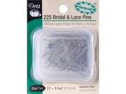 Bridal & Lace Pins-Size 17 225/Pkg