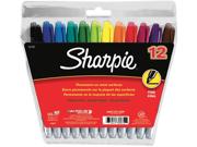 Sharpie Fine Point Permanent Markers 12/Pkg-Assorted Colors