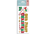 Jolee's Boutique Title Wave Stickers-Our First Christmas