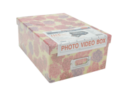 "Photo Storage Box 4.5""X8""X11.5""-Assorted Designs"