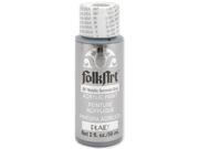 Folk Art Metallic Acrylic Paint 2 Ounces-Gunmetal Gray