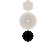 Paper Reverie Noir Florets 3/Pkg-