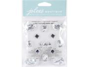 Jolee's Boutique Dimensional Stickers-Foil Jewels Diamond