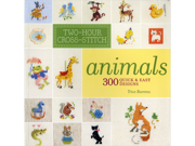Lark Books-Two-Hour Cross-Stitch Animals