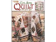Leisure Arts-Cut&#59; Sew&#59; Quilt As You Go