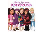 Nicky Epstein Books-Knits For Dolls Nicky Epstein