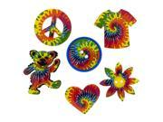 Dress It Up Embellishments-Tie Dyed Fun
