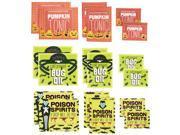 Monsters Drink Labels 18/Pkg-Assorted