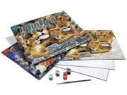 "Junior Large Paint By Number Kit 15-1/4"" X 11-1/4""-Pride Of Lions"