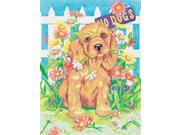 """Pencil Works Color By Number Kit 9""""X12""""-Naughty Puppy"""