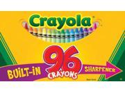 Crayola Llc Formerly Binney & Smith BIN520096 Crayola 96Ct Crayons Hinged Top Box