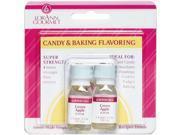 Candy & Baking Flavoring .125Oz Bottle 2/Pkg-Green Apple