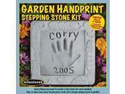 Garden Hand Print Stepping Stone Kit-