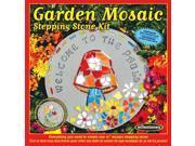 Garden Mosaic Stepping Stone Kit-