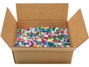 Mixed Plastic Beads 5 Pounds/Pkg Cousin 31673