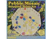 Pebble Mosaic Stepping Stone Kit-