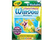 Crystal Effects Window Markers 8/Pkg-