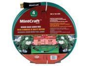 Med. Duty Hose 5/8In 25Ft 4Ply MINTCRAFT Garden Hose BL5820025HM Green