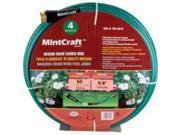 Med. Duty Hose 5/8In 50Ft 4Ply MINTCRAFT Garden Hose BL5820050HM Green