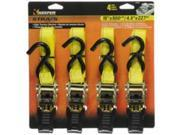 Keeper Corporation 05506 Ratchet Tiedown 15Ft4Pc With Handle