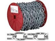2/0 125Ft Pass Link Chain CAMPBELL CHAIN Chain - Specialty 072-2927 Zinc Plated