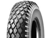 Martin Wheel 354-2ST-I Tire 410/350-4 2-Ply Rating, Stud Tread