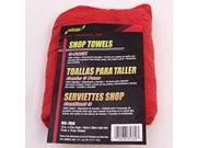 Twl Shop 12X14In Red Ctn Slct SM ARNOLD Cleaning Implements 85-760 Red Cotton