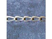 Chn Sash No 2 164Ft 29Lb 1/2In CAMPBELL CHAIN Chain - Sash 0710227 Chrome Plated