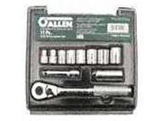Set Skt 3/8In Allen 12 11 APEX TOOL GROUP Socket Sets-Metric 19100 082171191008