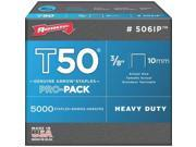 T50 Contractr Pck Staple 3/8 ARROW FASTENER CO Staples 506IP