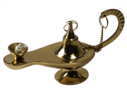 DECORATIVE GENIE LAMPS - Aladdin Lamp - SOLID BRASS