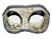 AGED FINISH MASQUERADE MASK - Party Costume - VENETIAN