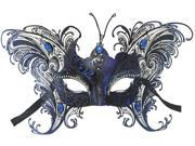 MASQUERADE COSTUME MASK - Laser Cut Metal - BUTTERFLY