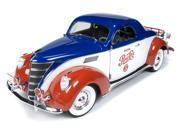 Auto World 1937 Lincoln Zephyr Coupe (Pepsi) 1:18 Scale