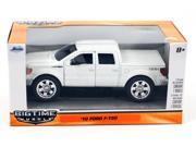 "Jada 5.5"" Bigtime Muscle: 2010 Ford F-150  Pickup Truck 1:32 Scale (White)"